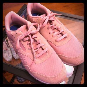 Reebok Classic Blush Pink & Rose Gold Sneakers